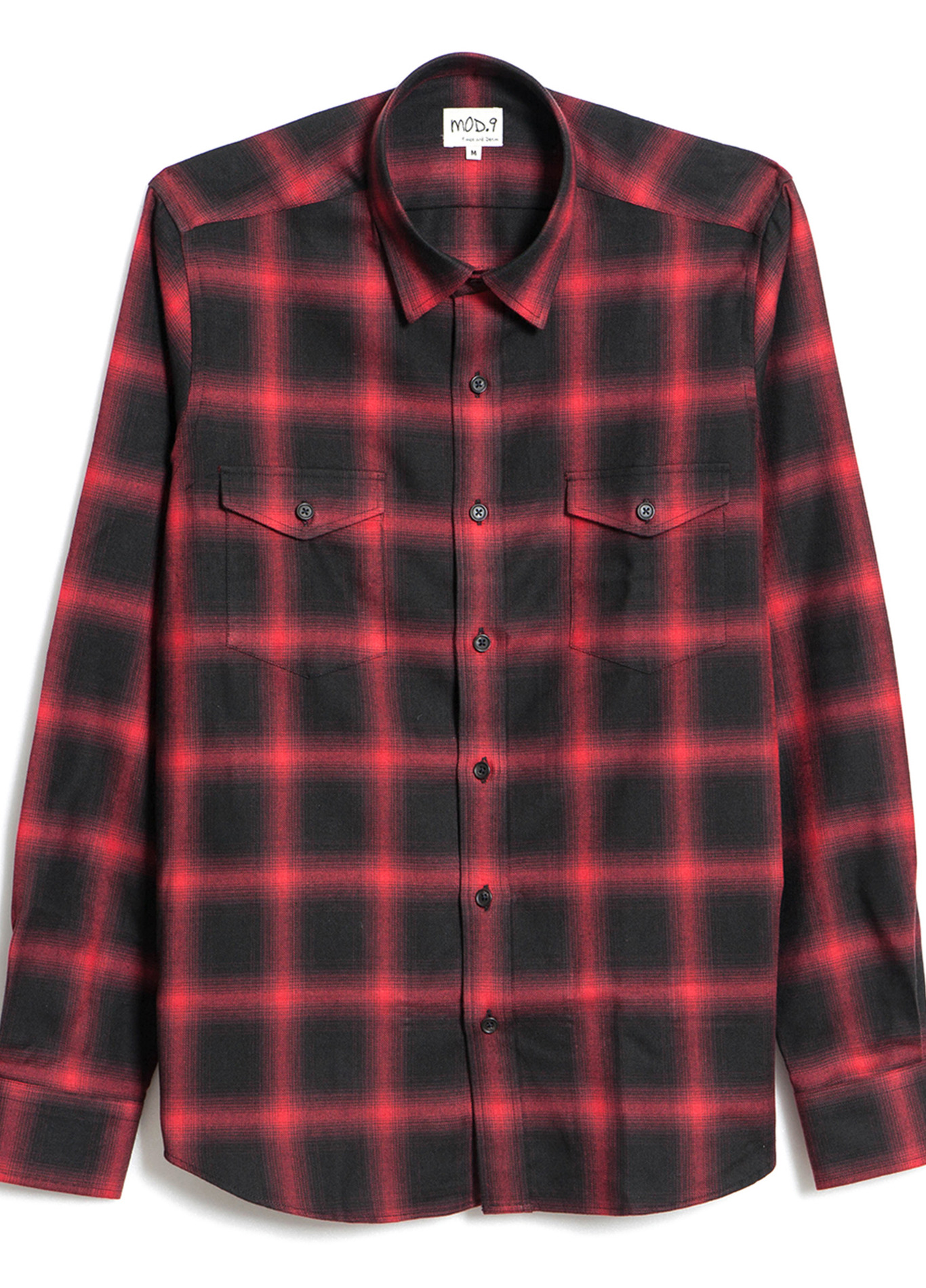 Red Square Flannel - Shirts